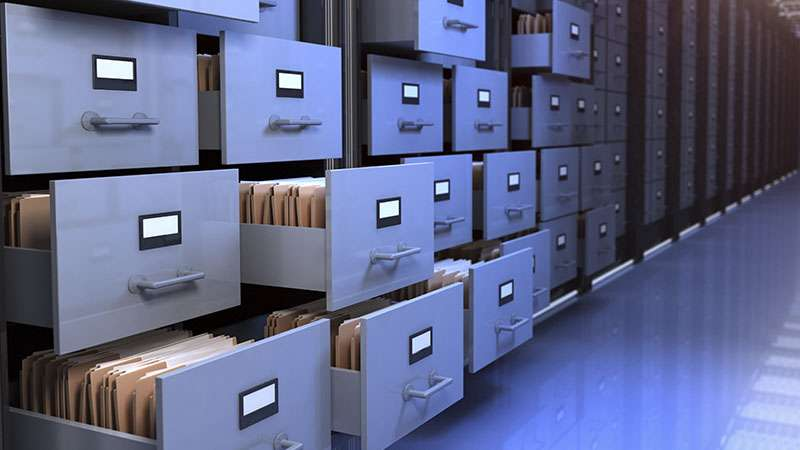 Archivos de custodia de documentos